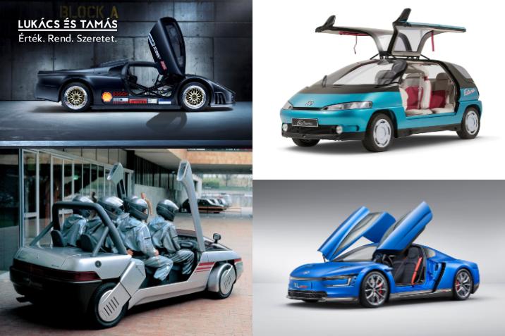 8 Volkswagen koncepcióautó
