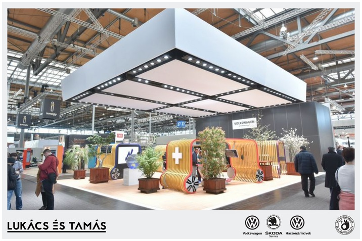 Volkswagen autonóm szállítási eszközökkel