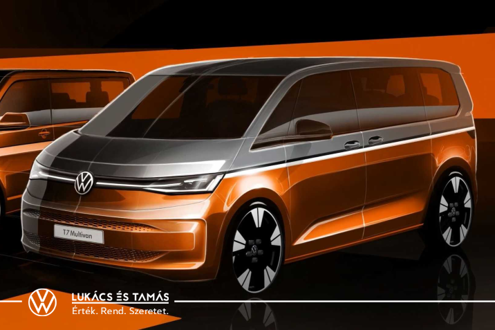 Az új Volkswagen Multivan