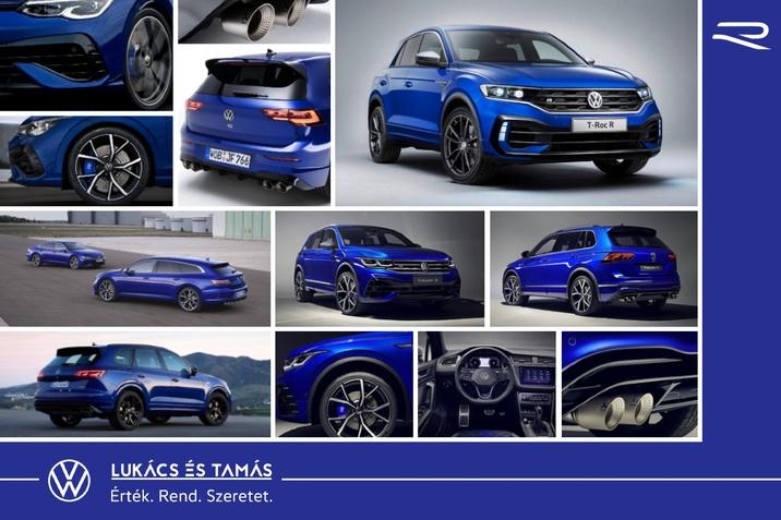 Volkswagen R modellek