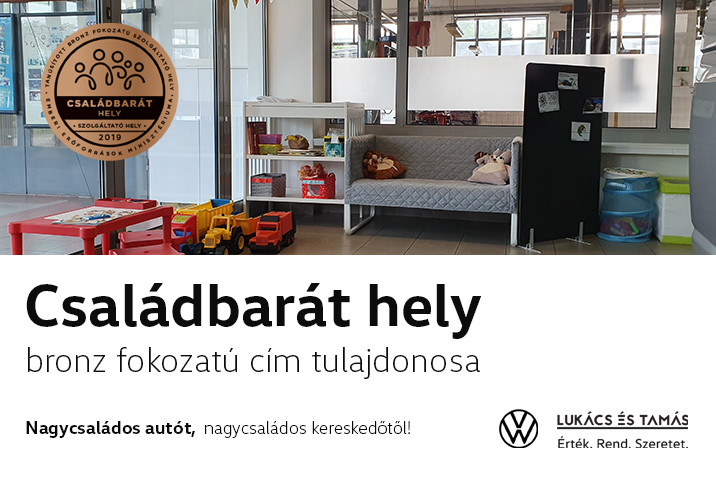 Lukács és Tamás Családbarát Hely 2019